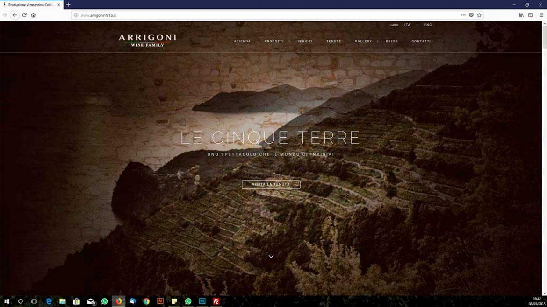 Mare Cinque terre - siti web la spezia