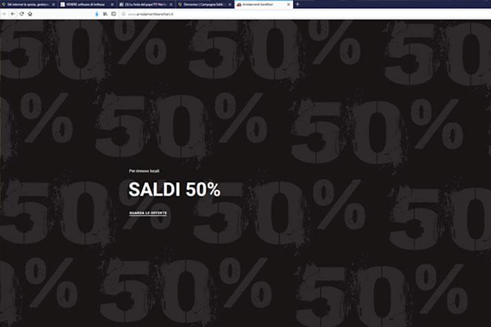Saldi 50% - Arredamenti Berettieri